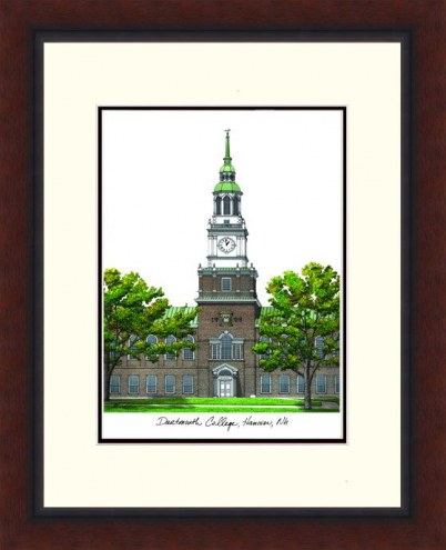 Dartmouth Big Green Legacy Alumnus Framed Lithograph