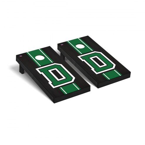Dartmouth Big Green Onyx Stained Cornhole Game Set