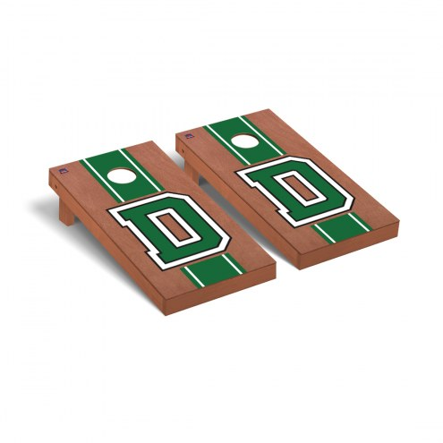 Dartmouth Big Green Rosewood Stained Cornhole Game Set