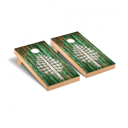 Dartmouth Big Green Weathered Cornhole Game Set