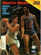 Dave Cowens Signed 2/7/72 Sports Illustrated Magazine