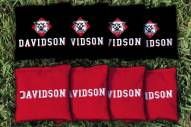 Davidson Wildcats Cornhole Bag Set