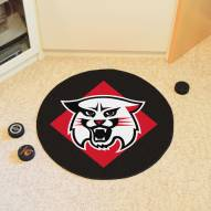 Davidson Wildcats Hockey Puck Mat