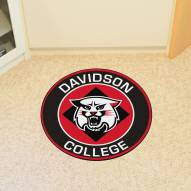 Davidson Wildcats Rounded Mat