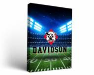 Davidson Wildcats Stadium Canvas Wall Art