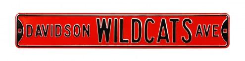 Davidson Wildcats Street Sign