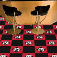 Davidson Wildcats Team Carpet Tiles