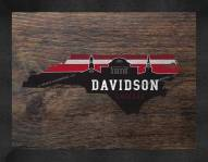 Davidson Wildcats Uscape Wall Decor
