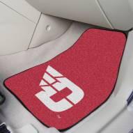 Dayton Flyers 2-Piece Carpet Car Mats