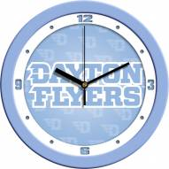 Dayton Flyers Baby Blue Wall Clock