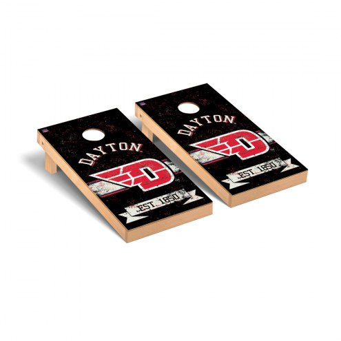 Dayton Flyers Banner Vintage Cornhole Game Set