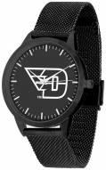 Dayton Flyers Black Dial Mesh Statement Watch