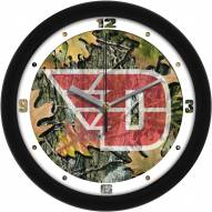 Dayton Flyers Camo Wall Clock