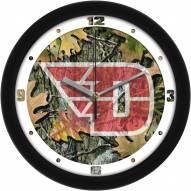 Dayton Flyers Camo Wall Clock