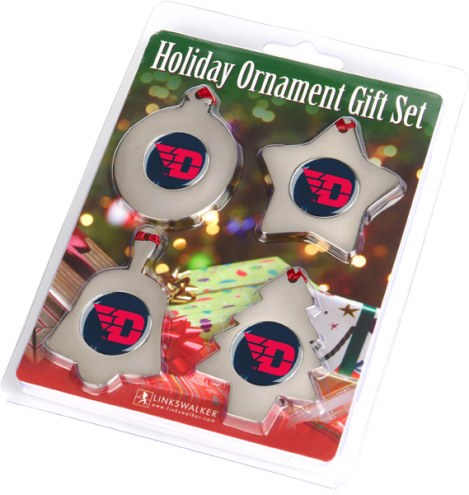 Dayton Flyers Christmas Ornament Gift Set
