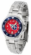 Dayton Flyers Competitor Steel AnoChrome Women's Watch - Color Bezel
