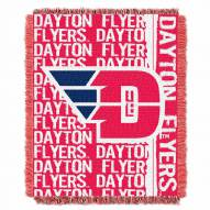 Dayton Flyers Double Play Woven Throw Blanket