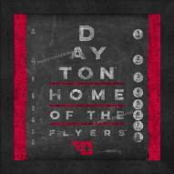 Dayton Flyers Eye Chart