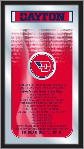 Dayton Flyers Fight Song Mirror