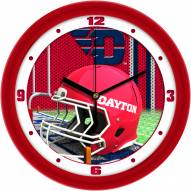 Dayton Flyers Football Helmet Wall Clock