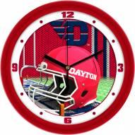 Dayton Flyers Football Helmet Wall Clock