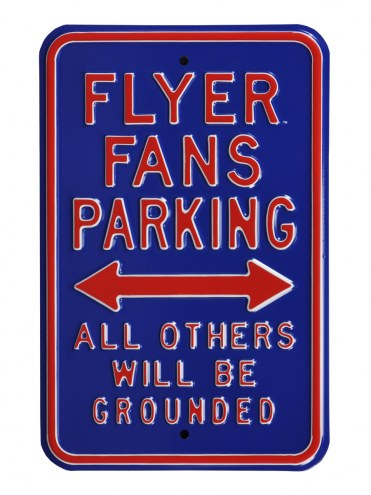 Dayton Flyers Grounded Parking Sign