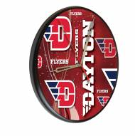 Dayton Flyers Digitally Printed Wood Clock