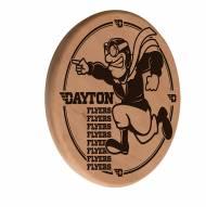 Dayton Flyers Laser Engraved Wood Sign