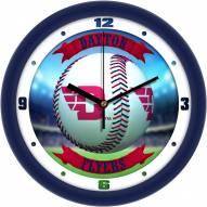 Dayton Flyers Home Run Wall Clock