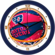 Dayton Flyers Slam Dunk Wall Clock