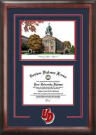 Dayton Flyers Spirit Diploma Frame with Campus Image