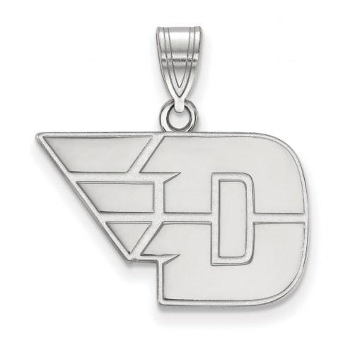 Dayton Flyers Sterling Silver Medium Pendant