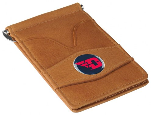 Dayton Flyers Tan Player's Wallet