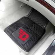 Dayton Flyers Vinyl 2-Piece Car Floor Mats