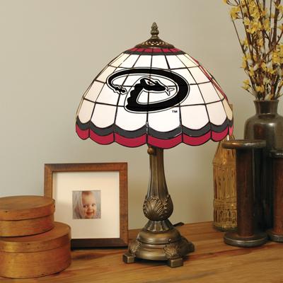 Arizona Diamondbacks MLB Stained Glass Table Lamp