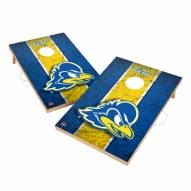 Delaware Blue Hens 2' x 3' Vintage Wood Cornhole Game
