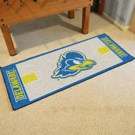 Delaware Blue Hens Football Field Runner Rug