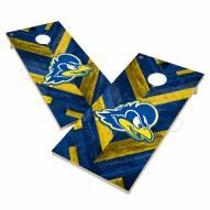 Delaware Blue Hens Herringbone Cornhole Game Set
