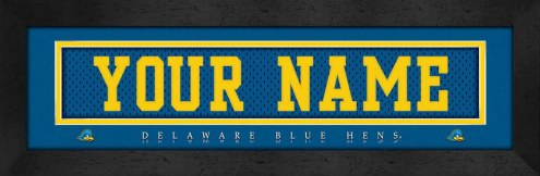 Delaware Blue Hens Personalized Stitched Jersey Print