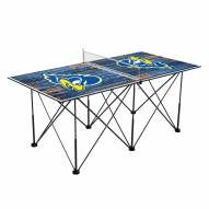 Delaware Blue Hens Pop Up 6' Ping Pong Table