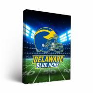 Delaware Blue Hens Stadium Canvas Wall Art