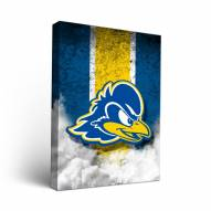 Delaware Blue Hens Vintage Canvas Wall Art