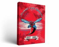 Delaware State Hornets Banner Canvas Wall Art