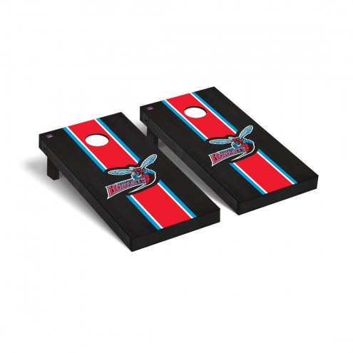 Delaware State Hornets Onyx Stained Cornhole Game Set