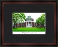 University of Delaware Academic Framed Lithograph