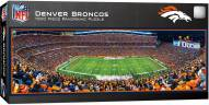Denver Broncos 1000 Piece Panoramic Puzzle