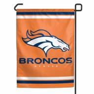 """Denver Broncos 11"""" x 15"""" Garden Flag"""
