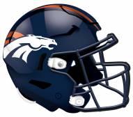 """Denver Broncos 12"""" Helmet Sign"""