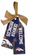 """Denver Broncos 12"""" Team Tags"""