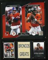 "Denver Broncos 12"" x 15"" Legacy Collection Plaque"